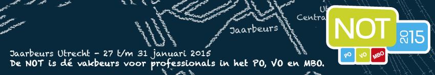 Bezoek Oefenweb tijdens NOT 2015